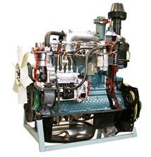 拖拉机柴油发动机解剖模型